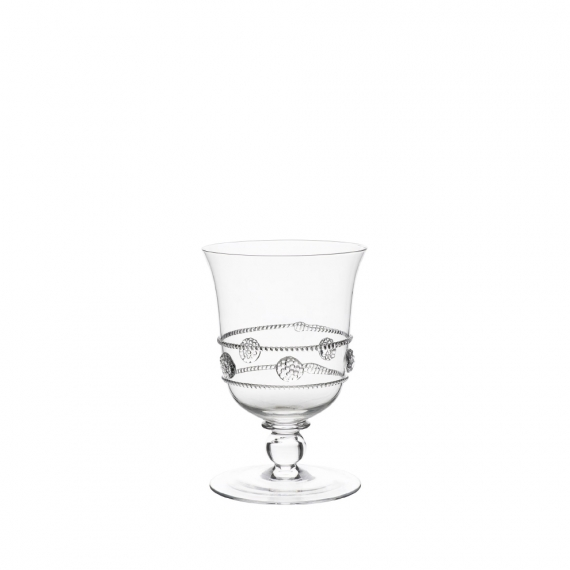 Isabella Tulip Footed Water Goblet Set of 2