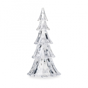 "Berry & Thread 16"" Stackable Glass Tree Set of 5 in Clear"