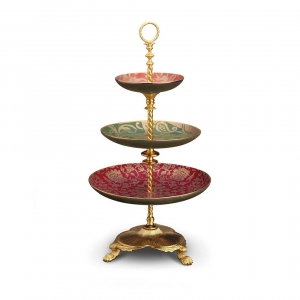L'Objet Fortuny 3-Tier Server Multicolor