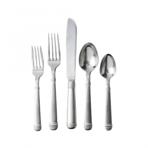 Le Panier Bright Satin 5pc Place Setting