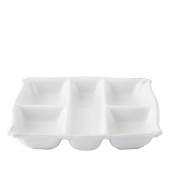 Juliska Berry & Thread Whitewash Appetizer Platter White