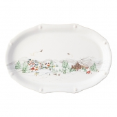 "Juliska Berry & Thread North Pole 17"" Platter Multi"