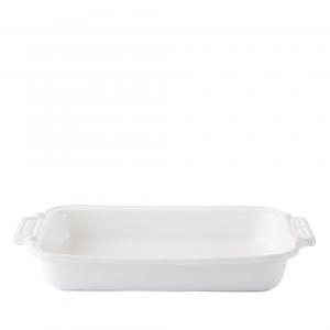 Le Panier Whitewash Rectangular Baker