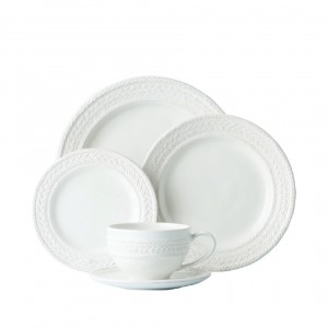 Le Panier Whitewash 5pc Setting