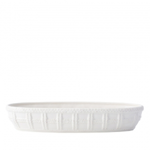Juliska Le Panier Whitewash Bread Basket White