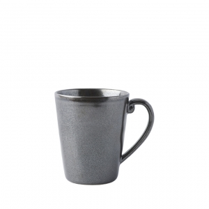 Pewter Stoneware Mug Set of 4