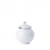 Quotidien White Truffle Lidded Sugar Bowl Set of 2