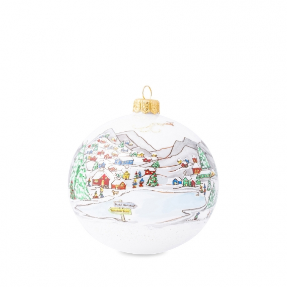Berry & Thread North Pole Glass Ornament - 2020 Limited Edition