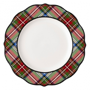 Stewart Tartan Dinner Plate Set of 4