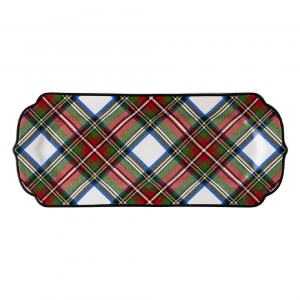 Stewart Tartan Hostess Tray Set of 2