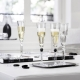 Baccarat Harcourt Eve Flute Set Of 2 Clear