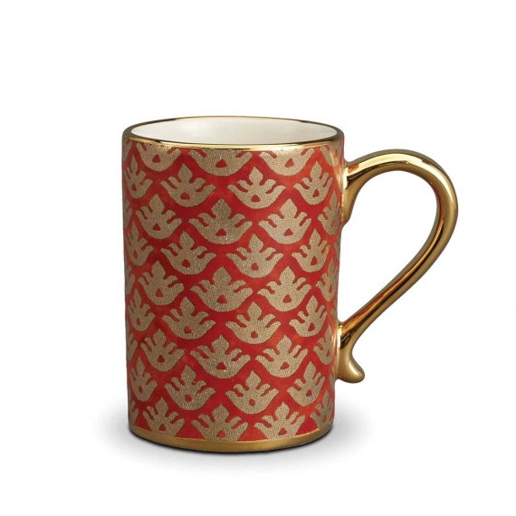 Fortuny Canestrelli Mugs Set of 4 - Orange