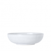 Juliska Quotidien White Truffle Coupe Pasta / Soup Bowl Set Of 4 White