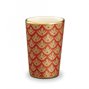L'Objet Fortuny Canestrelli Tumblers Set of 4 Orange