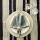 Kim Seybert Vermicelli Placemat In Silver & Crystal Set Of 4