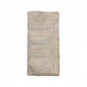 Variegated Napkin in Natural & Gray Set of 4