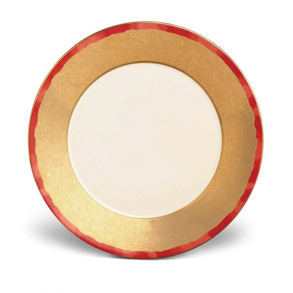 Fortuny Dinner Plates Set of 4 - Red