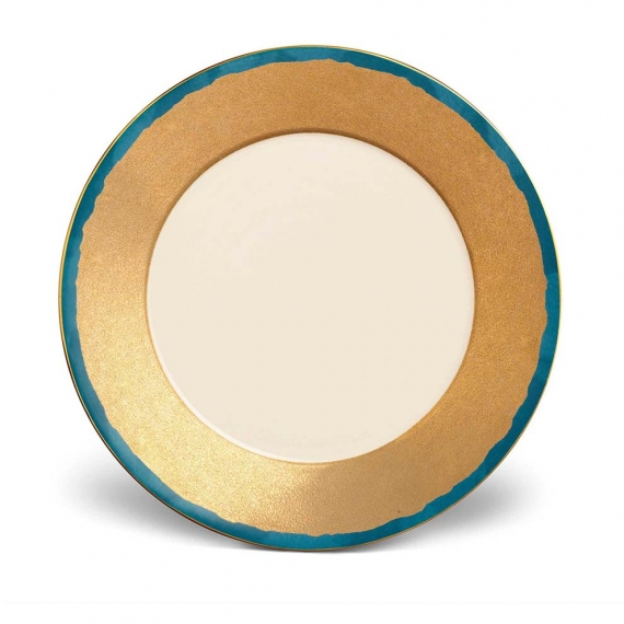 Fortuny Dinner Plates Set of 4 - Teal