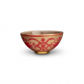 L'Objet Fortuny Farnes Small Bowl Red