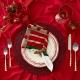 Kim Seybert Confetti Placemat In Red Set Of 4