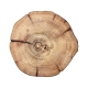 Kim Seybert Woodland Placemat In Natural & Brown Set Of 4 Wood