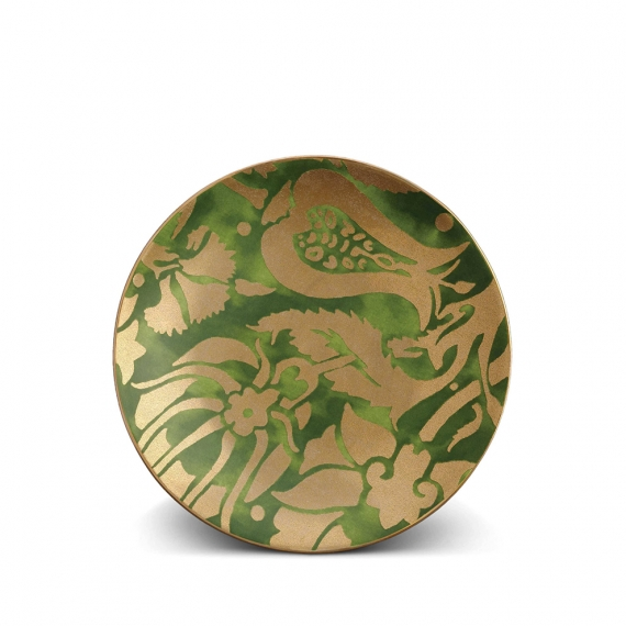 Fortuny Melagrana Dessert Plates Set of 4 - Green