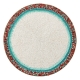 Kim Seybert Amalfi Placemat In White, Turquoise & Coral Set Of 4 Multi