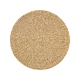 Kim Seybert Wood Round Placemat In Natural Set Of 4 Beige