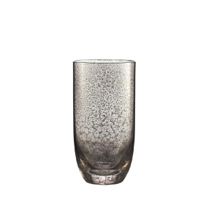 Crackle Tumbler in Platinum Set of 4