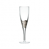 Paillette White Wine Glass in Platinum Set of 4