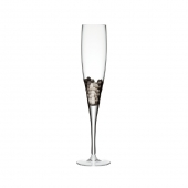 Paillette Champagne Flute in Platinum Set of 4