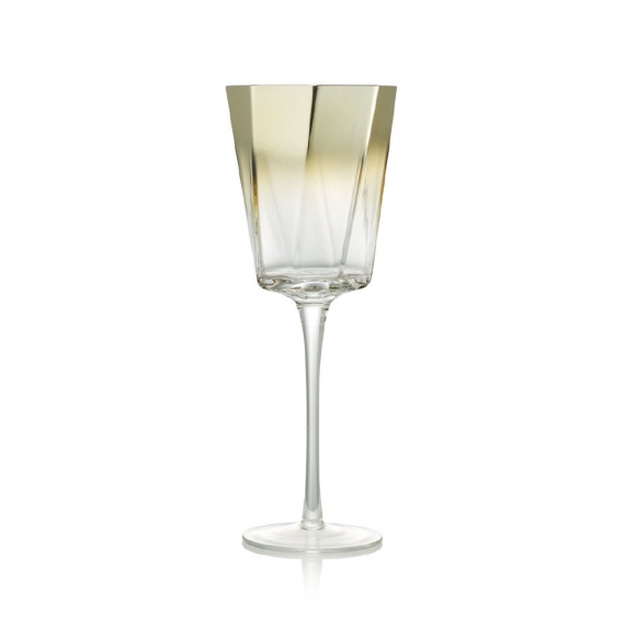 Helix Goblet in Gold Set of 4