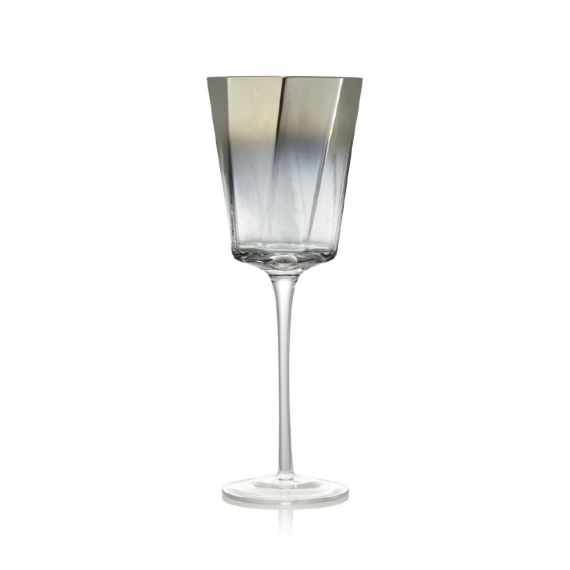 Helix Goblet in Silver Set of 4