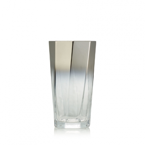 Helix Tumbler in Silver Set of 4