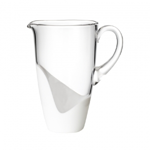 Vague Pitcher in White