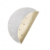 Dart Reversible Placemat in Gold & Silver Set of 4