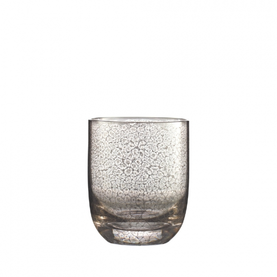 Crackle Double Old Fashioned Set of 4