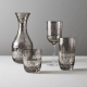 Kim Seybert Crackle Double Old Fashioned Set Of 4