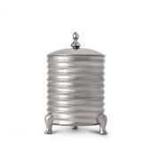 L'Objet Han Canister Candle Platinum 3-wick