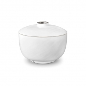 L'Objet Platinum Han Rice Bowl with Bowl