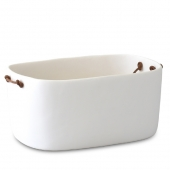 Tina Frey Large Champagne Bucket With Leather Handles