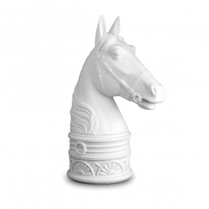 L'Objet Horse Bookend White
