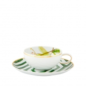 Amazonia Tea Cup And Saucer