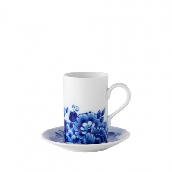 Blue Ming Coffee Cup and Saucer Set of 4
