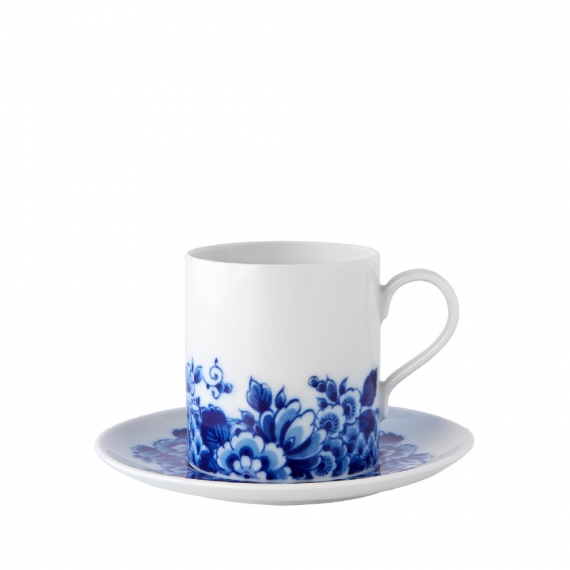 Blue Ming Tea Cup and Saucer Set of 4