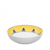 Vista Alegre Castelo Branco Cereal Bowl Set Of 4 Yellow