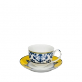 Castelo Branco Coffee Cup and Saucer Set of 4