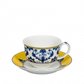 Castelo Branco Tea Cup and Saucer Set of 4