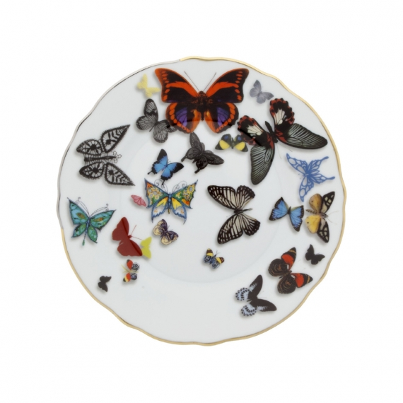 Butterfly Parade Bread and Butter Plate Set of 4