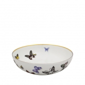 Vista Alegre Butterfly Parade Cereal Bowl Set Of 4 Multi
